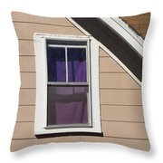 Purple Shade Composition Throw Pillow