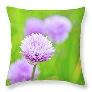 Purple Spring 11 Throw Pillow