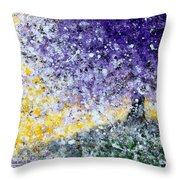 Purple Tree And The Afternoon Sun Throw Pillow