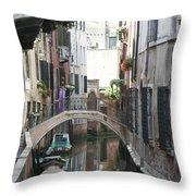 Purple Wash Throw Pillow