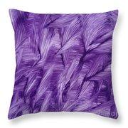 Purple Watercolor Art  Throw Pillow