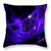 Purple Wine Throw Pillow