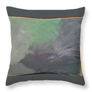 Purpleness  Throw Pillow