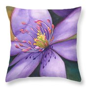 Purple's Passion Throw Pillow