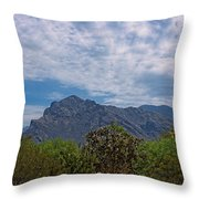 Pusch Ridge Morning H26 Throw Pillow