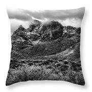 Pusch Ridge Snow No10 Throw Pillow
