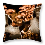 Push And Pull Throw Pillow