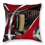Push Buttons Throw Pillow