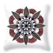 Push Out Throw Pillow