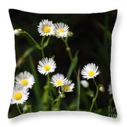 Pushing Up..... Throw Pillow
