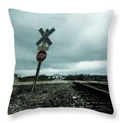 Pushover Throw Pillow