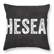 Put The Seat Down Throw Pillow