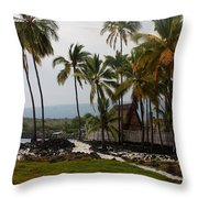 Puuhonua O Honaunau National Historical Park Throw Pillow