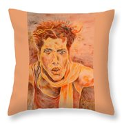 Puzzeld Throw Pillow