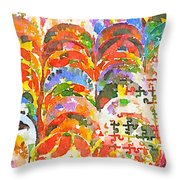 Puzzles Throw Pillow