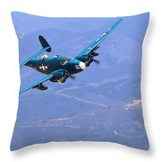 Pv-2 Harpoon At Salinas Throw Pillow