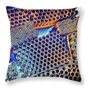 Pvc Abstract Throw Pillow