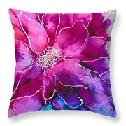 Powerfully Pink Throw Pillow