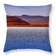 Pyramid Lake Winds Throw Pillow