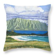 Pyramid Rock Throw Pillow