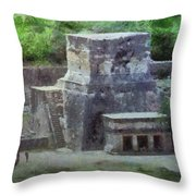 Pyramid View Throw Pillow