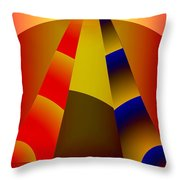 Pyramids Pendulum Throw Pillow