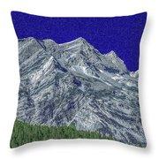 Pyrenees Astazous Mountain Throw Pillow