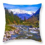 Pyrenees Lutour Torrent Throw Pillow