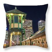 Pyrmont Bridge Throw Pillow