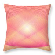 Pyrotechnic Cathedral Throw Pillow