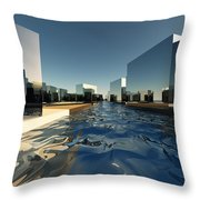 Q-city Two Throw Pillow