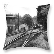 Q142 Throw Pillow