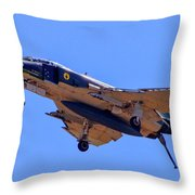 Qf-4 Phantom II 3 Throw Pillow