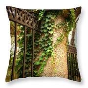 Qingdao Castle Garden Throw Pillow