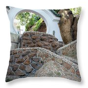 Qingdao Moon Gate Throw Pillow