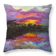 Quail Lake Throw Pillow