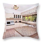 Quaint Kitchen Throw Pillow