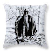 Quaker Pilgrim Throw Pillow
