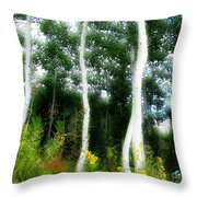 Quaking Throw Pillow