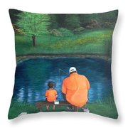 Quality Time Throw Pillow