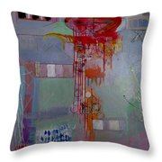 Quanta Continua Throw Pillow