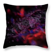 Quantum Bubbles Throw Pillow