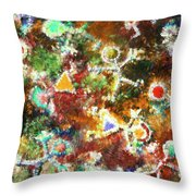 Quantum Humans Throw Pillow