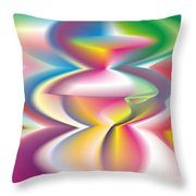 Quantum Landscape 3 Throw Pillow
