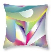 Quantum Landscape 5 Throw Pillow