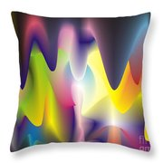 Quantum Landscape 6 Throw Pillow