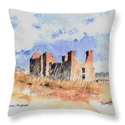Quarari Mission Throw Pillow