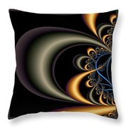 Quarter Moon In A Five Cent Town Throw Pillow
