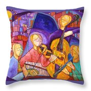 Quartet For The End Of Time Throw Pillow
