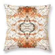 Quartz And Pyrite Throw Pillow